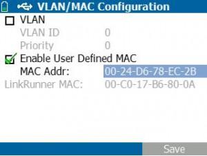 MAC ACL は MAC スプーフィングを使用して検証できます。