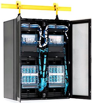 コアネットワークラック セットバックフレーム構造
