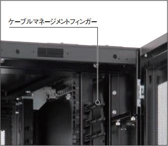 fsna110-820EKN ケーブルマネージメントフィンガー